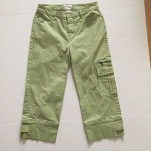 French Dressing Cropped Cargo Pants, 2